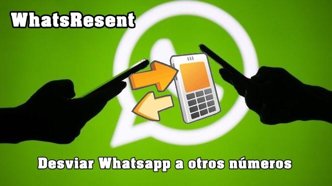 desviar whatsapp de un celular a otro